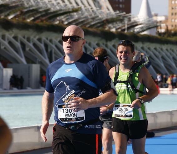 Running In Valencia