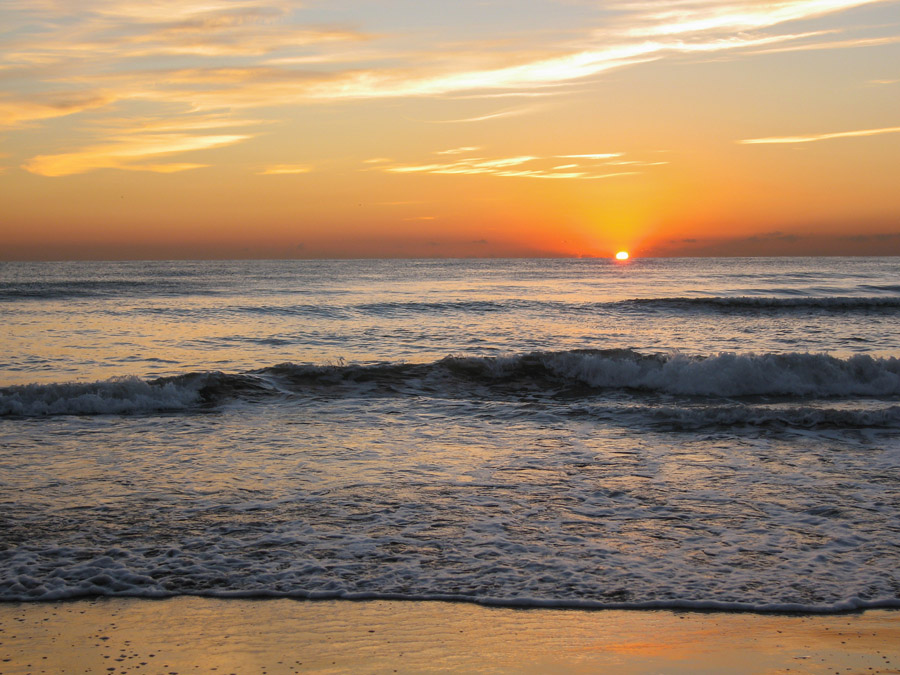 Sunrise At The Beach, Valencia, Spain