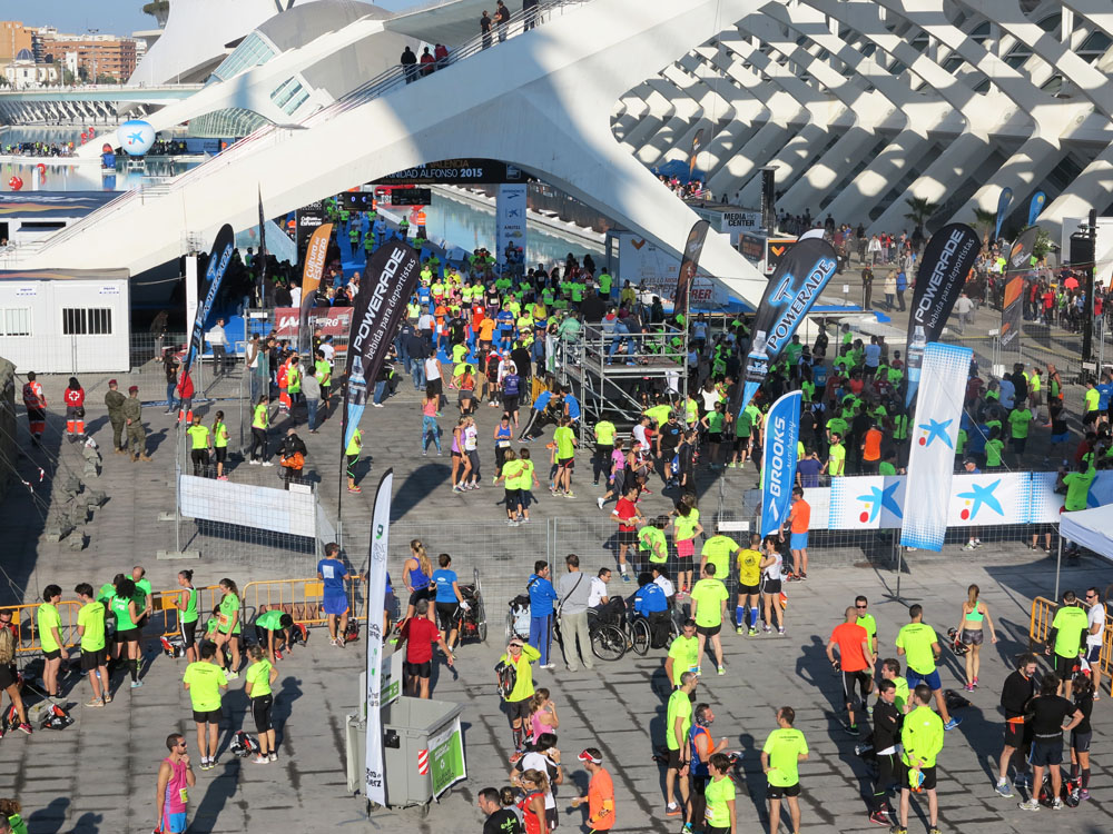 The Valencia Marathon 2015