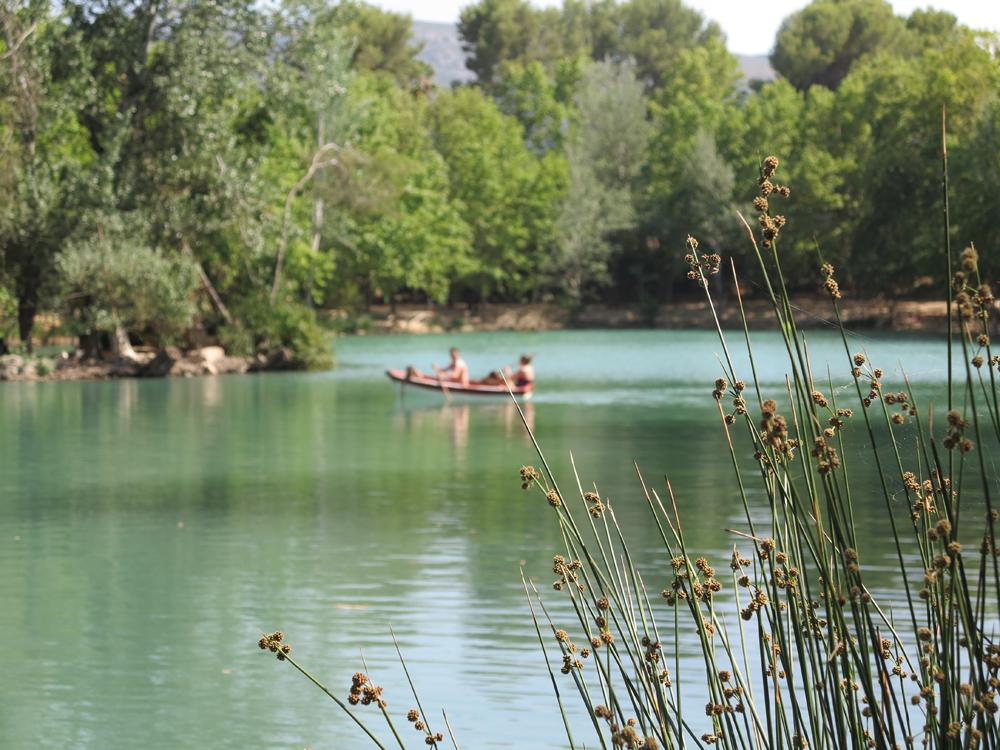 The lake at Ana