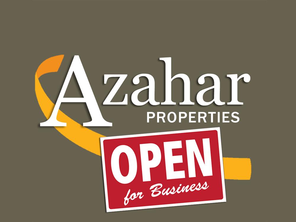 Azahar Properties open for business copy